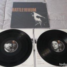 Discos de vinilo: U2 - RATTLE AND HUM - ESPAÑA - ENCARTES - GATEFOLD - 1988 - NM-/VG++. Lote 246306655