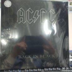 Discos de vinilo: AC DC LP BACK IN BLACK VINILO BLANCO PRECINTADO. Lote 246306810