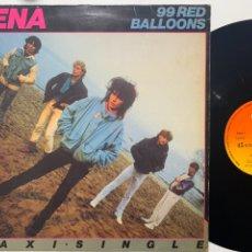 Discos de vinilo: MAXI NENA 99 RED BALLONS EDICIÓN ESPAÑOLA DE 1984. Lote 246308000
