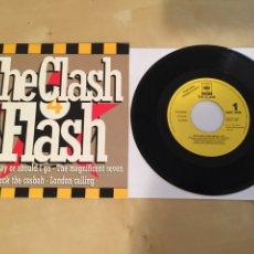 """Discos de vinilo: THE CLASH - THE CLASH FLASH MEDLEY - RADIO PROMO SINGLE 7"""" - 1991 - EXCELENTE ESTADO. Lote 246313790"""