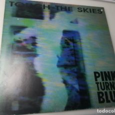 Discos de vinilo: PINK TUNRS BLUE - TOUCH THE SKIES DISCO AZUL. Lote 246316035