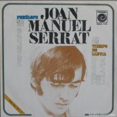 Discos de vinilo: JUAN MANUEL SERRAT//PENELOPE//SINGLE//1969//NOVOLA. Lote 246317330