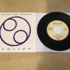 """Disques de vinyle: HEROES DEL SILENCIO - ORACIÓN - RADIO SINGLE 7"""" - 1ª EDICIÓN 1991. Lote 246317485"""