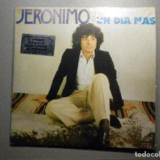 Discos de vinilo: JERÓNIMO - UN DÍA MÁS - EL ÚLTIMO TREN DEL DOMINGO - BENBERLY RECORDS 1977 -. Lote 246321430