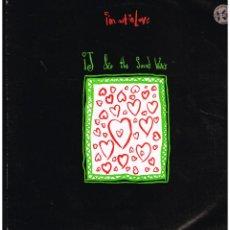 Discos de vinilo: IJ & THE SOUND WAVE - I'M NOT IN LOVE - MAXI SINGLE 1990 - ED. UK. Lote 246321510