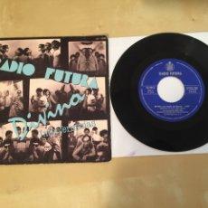 "Discos de vinilo: RADIO FUTURA - DIVINA / INTERFERENCIAS - RADIO SINGLE 7"" - 1980. Lote 246324695"