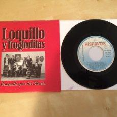 """Discos de vinilo: LOQUILLO Y LOS TROGLODITAS - RADIO PROMO SINGLE 7"""" - 1991. Lote 246337175"""