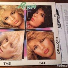 Discos de vinilo: POISON - LOOK WHAT THE CAT DRAGGED IN **** RARO LP ESPAÑOL 1990 GRAN ESTADO. Lote 246339700