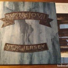Discos de vinilo: JON BON JOVI - NEW JERSEY **** LP ESPAÑOL 1988. Lote 246341515