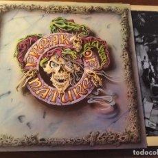 Discos de vinilo: FREAK OF NATURE - M/T **** RARO LP UK MUSIC OF NATIONS 1993 GRAN ESTADO. Lote 246343040