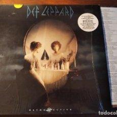 Discos de vinilo: DEF LEPPARD - RETRO ACTIVE **** RARO LP ESPAÑOL 1993 GRAN ESTADO. Lote 246343275