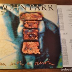 Discos de vinilo: JOHN PARR - MAN WITH A VISION **** RARO LP UK 1992 HARD ROCK BUEN ESTADO. Lote 246344290