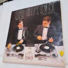 Discos de vinilo: DON DISCOMIX. MIKE PLATINAS Y JAVIER USSIA. Lote 246346525