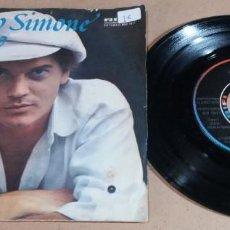 Disques de vinyle: FRANCO SIMONE / RESPIRO / SINGLE 7 PULGADAS. Lote 272121573