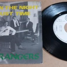Discos de vinilo: SOLID STRANGERS / MUSIC IN THE NIGHT / SINGLE 7 PULGADAS. Lote 246352270