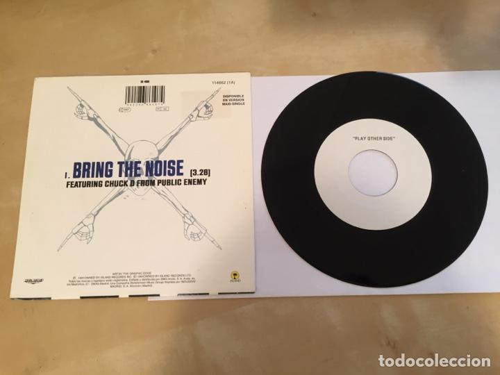"Discos de vinilo: Anthrax - Bring The Noise - RADIO PROMO SINGLE 7"" - 1991 ESPAÑA - Foto 3 - 246353015"