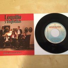 """Discos de vinilo: LOQUILLO Y LOS TROGLODITAS - UN HOMBRE PUEDE LLORAR - RADIO PROMO SINGLE 7"""" - 1991. Lote 246357275"""