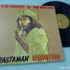 Discos de vinilo: BOB MARLEY & THE WAILERS RASTAMAN VIBRATION ..LP- ISLAND NUEVA EDICION REMASTERED 2015 - NUEVO. Lote 246359610