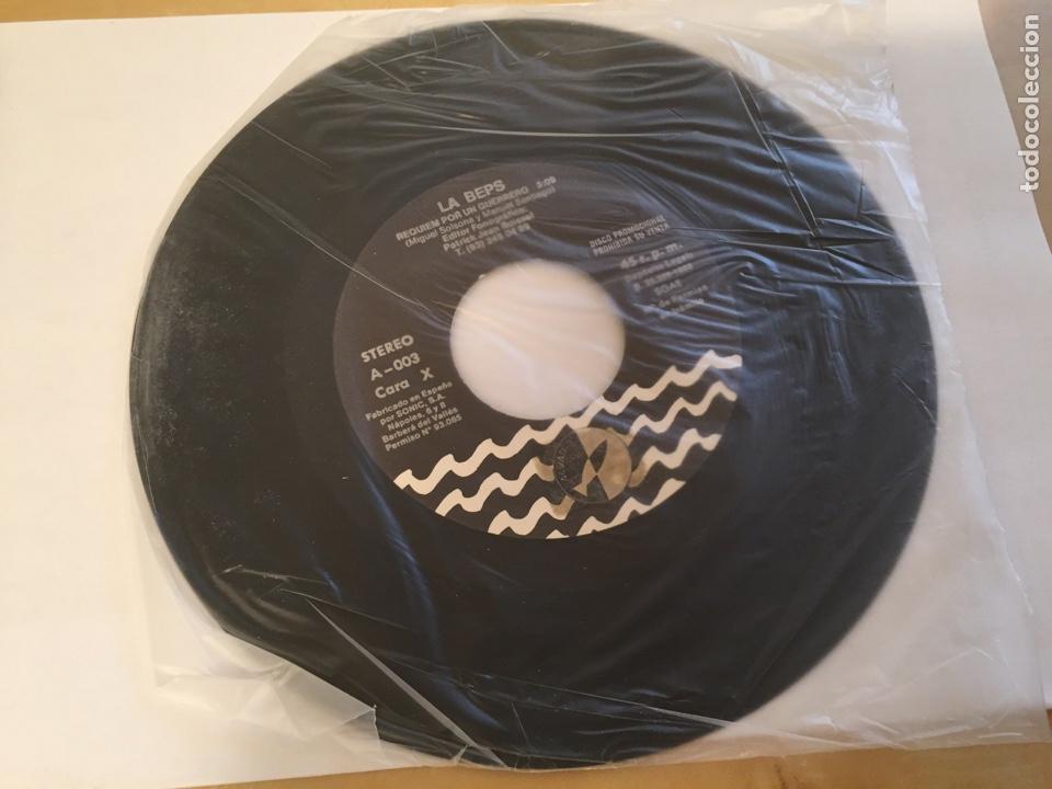 """Discos de vinilo: La Beps - Requiem Por Un Guerrero - RADIO PROMO SINGLE 7"""" - 1988 - Foto 2 - 246361495"""