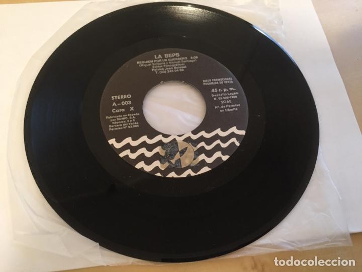 """Discos de vinilo: La Beps - Requiem Por Un Guerrero - RADIO PROMO SINGLE 7"""" - 1988 - Foto 3 - 246361495"""
