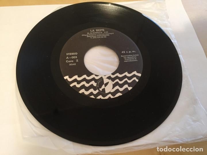"""Discos de vinilo: La Beps - Requiem Por Un Guerrero - RADIO PROMO SINGLE 7"""" - 1988 - Foto 5 - 246361495"""