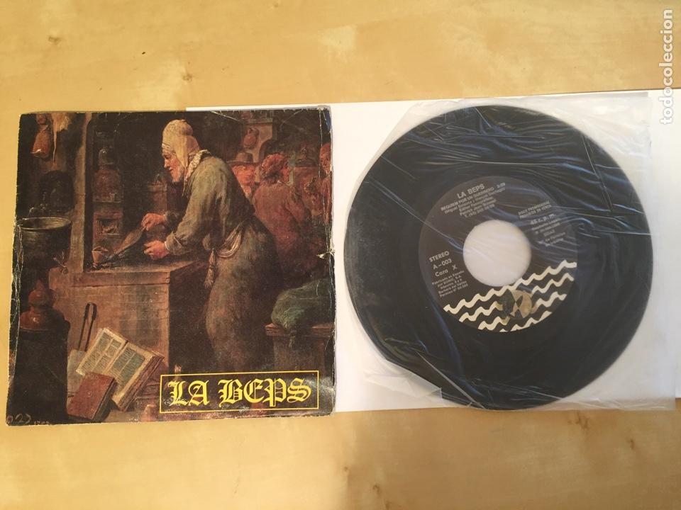 """LA BEPS - REQUIEM POR UN GUERRERO - RADIO PROMO SINGLE 7"""" - 1988 (Música - Discos - Singles Vinilo - Heavy - Metal)"""