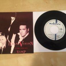"Discos de vinilo: TRANSVISION VAMP - IF LOOKS COULD KILL - RADIO SINGLE 7"" - 1991. Lote 246362300"