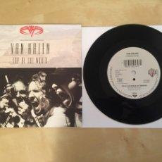 """Discos de vinil: VAN HALEN - TOP OF THE WORLD - RADIO SINGLE 7"""" - 1991. Lote 246362470"""