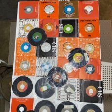 Discos de vinilo: 32 SINGLES DE 45 DIFERENTES ARTISTAS MICHAEL JACKSON, LENNNON, ERIC CLAPTON...MUCHOS MAS,MIRAR FOTOS. Lote 246363065