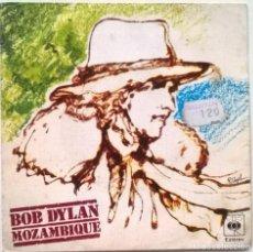 Discos de vinilo: BOB DYLAN. MOZAMBIQUE/ OH HERMANA (OH SISTER). CBS, SPAIN 1976 SINGLE. Lote 246363555