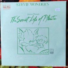 Discos de vinilo: LIQUIDACION LP EN PERFECTO ESTADO_STEVE WONDERS_EL SECRETO DE LAS PLANTAS. Lote 246366295