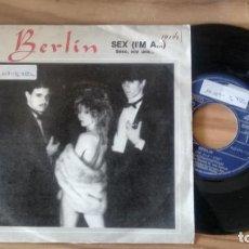 Discos de vinilo: MAXISINGLE DE BERLIN AÑOS 80. Lote 246375760
