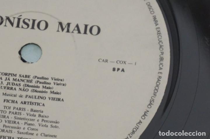 Discos de vinilo: VINILO 12´´ - LP - DIONISIO MAIO - DIONISIO MAIO - CAR - COX - 1 - PRODUÇAO DE DISCOS CARLITA - Foto 4 - 246422735