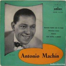 Discos de vinilo: ANTONIO MACHÍN-ANOCHE HABLÉ CON LA LUNA, ODEON DSOE 16.258. Lote 246426715