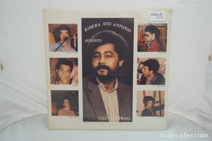 Discos de vinilo: VINILO 12´´ - LP - VERA CRUZ PINTO - RIBERA STO ANTONIO - AUGUSTO ARSOM RECORDS - V. C. P. - 001/85 - Foto 2 - 246431275