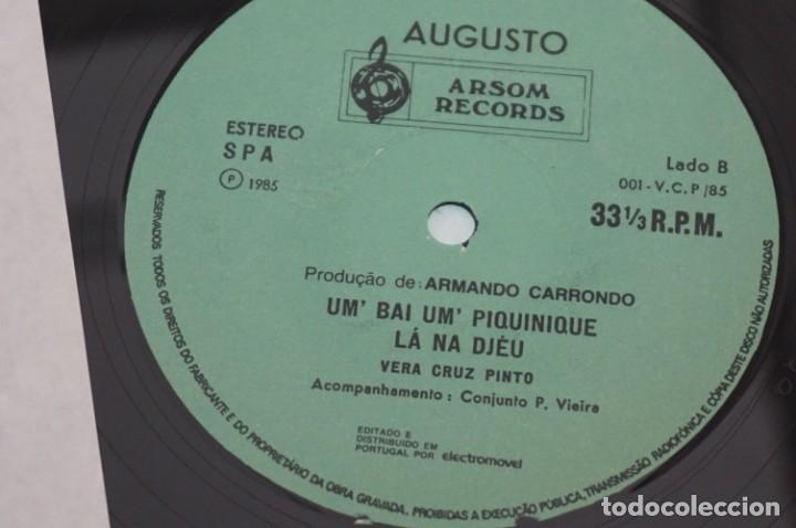 Discos de vinilo: VINILO 12´´ - LP - VERA CRUZ PINTO - RIBERA STO ANTONIO - AUGUSTO ARSOM RECORDS - V. C. P. - 001/85 - Foto 4 - 246431275