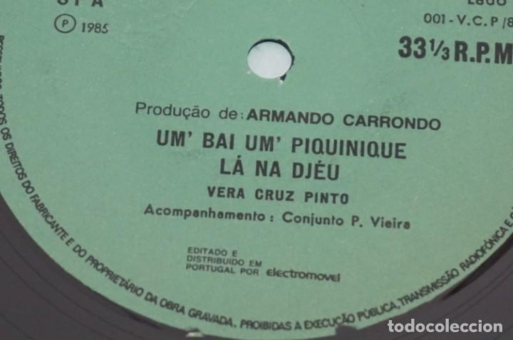 Discos de vinilo: VINILO 12´´ - LP - VERA CRUZ PINTO - RIBERA STO ANTONIO - AUGUSTO ARSOM RECORDS - V. C. P. - 001/85 - Foto 5 - 246431275