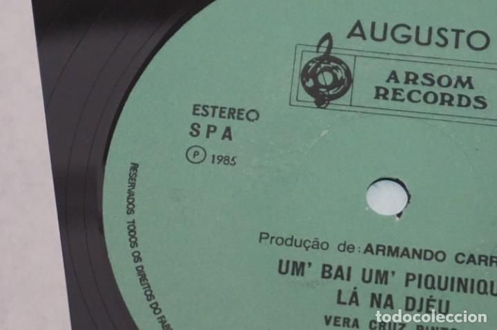 Discos de vinilo: VINILO 12´´ - LP - VERA CRUZ PINTO - RIBERA STO ANTONIO - AUGUSTO ARSOM RECORDS - V. C. P. - 001/85 - Foto 7 - 246431275