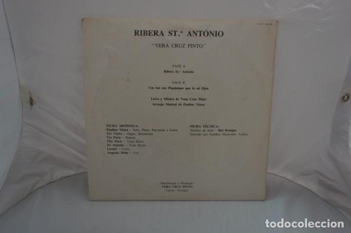Discos de vinilo: VINILO 12´´ - LP - VERA CRUZ PINTO - RIBERA STO ANTONIO - AUGUSTO ARSOM RECORDS - V. C. P. - 001/85 - Foto 9 - 246431275