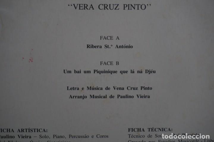 Discos de vinilo: VINILO 12´´ - LP - VERA CRUZ PINTO - RIBERA STO ANTONIO - AUGUSTO ARSOM RECORDS - V. C. P. - 001/85 - Foto 11 - 246431275