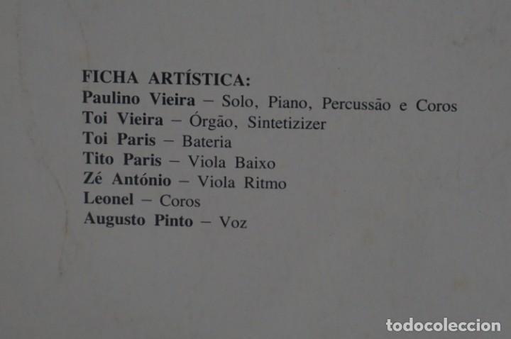 Discos de vinilo: VINILO 12´´ - LP - VERA CRUZ PINTO - RIBERA STO ANTONIO - AUGUSTO ARSOM RECORDS - V. C. P. - 001/85 - Foto 12 - 246431275