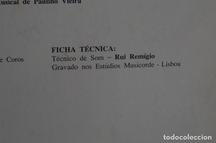 Discos de vinilo: VINILO 12´´ - LP - VERA CRUZ PINTO - RIBERA STO ANTONIO - AUGUSTO ARSOM RECORDS - V. C. P. - 001/85 - Foto 13 - 246431275