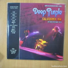 Discos de vinilo: DEEP PURPLE - CALIFORNIA JAM ONTARIO SPEEDWAY 1974 - LP. Lote 246433300
