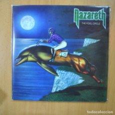 Discos de vinilo: NAZARETH - THE FOOL CIRCLE - VINILO MORADO - LP. Lote 246433305