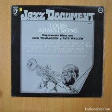 Discos de vinilo: LOUIS ARMSTRONG - JAZZ DOCUMENT VOL 16 - LP. Lote 246433405