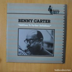 Discos de vinilo: BENNY CARTER - ADDITIONS TO FURTHER DEFINITIONS - LP. Lote 246433420