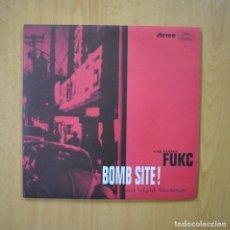 Discos de vinilo: RAG CUTTER - RAG CUTTER FUKC BOMB SITE! LAST NIGHT SKELETON - 2 X 10 PULGADAS. Lote 246433805