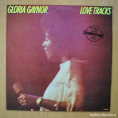 Discos de vinilo: GLORIA GAYNOR - LOVE TRACKS - LP. Lote 246433870
