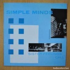 Disques de vinyle: SIMPLE MINDS - SISTER FEELINGS CALL - LP. Lote 246433880