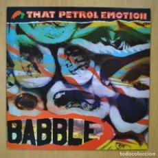 Discos de vinilo: THAT PETROL EMOTION - BABBLE - LP. Lote 246433940